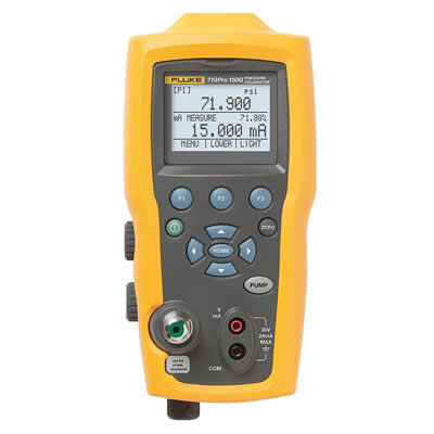 Fluke Model 719 Pressure Calibrator with Internal Pump